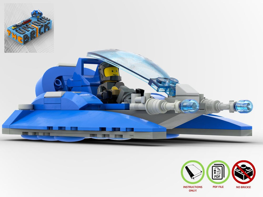 LEGO-MOC - Surface Skimmer NLL942 - The Unique Brick