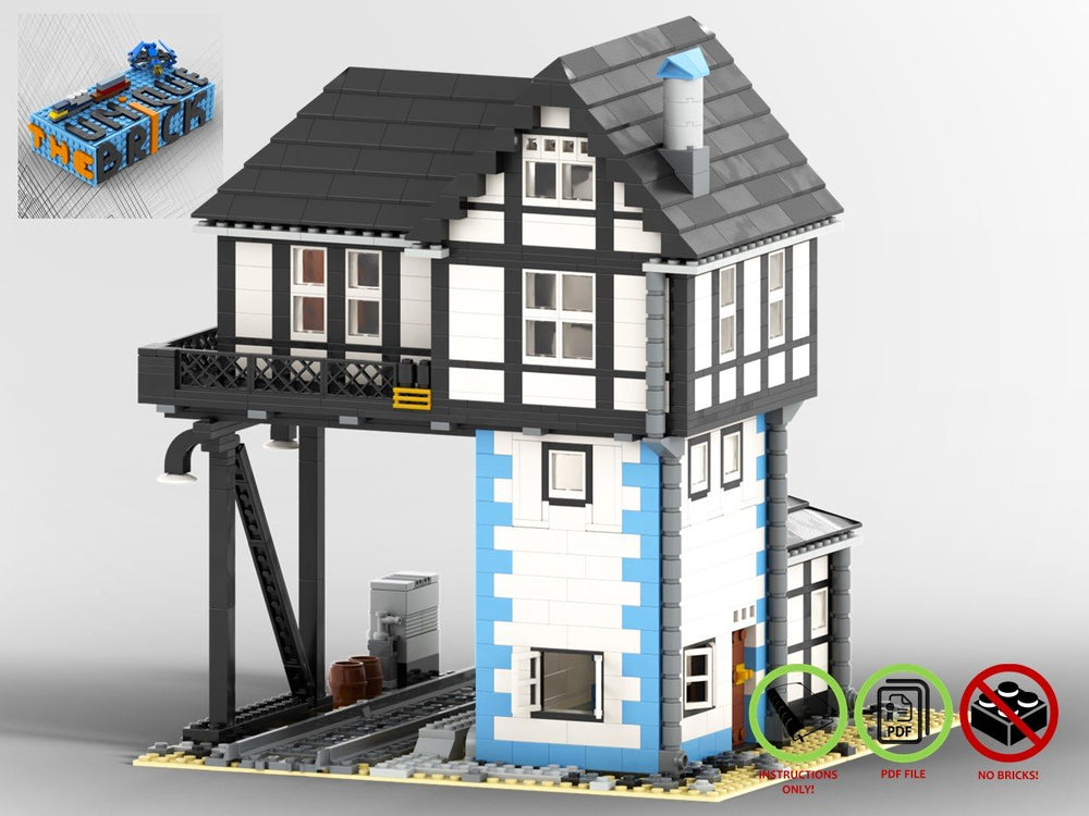 Load image into Gallery viewer, LEGO-MOC - Switch Tower - The Unique Brick