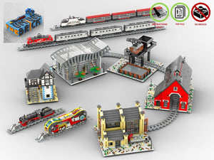Load image into Gallery viewer, LEGO-MOC - Train Collection - The Unique Brick