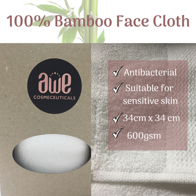 Bamboo Face Cloth
