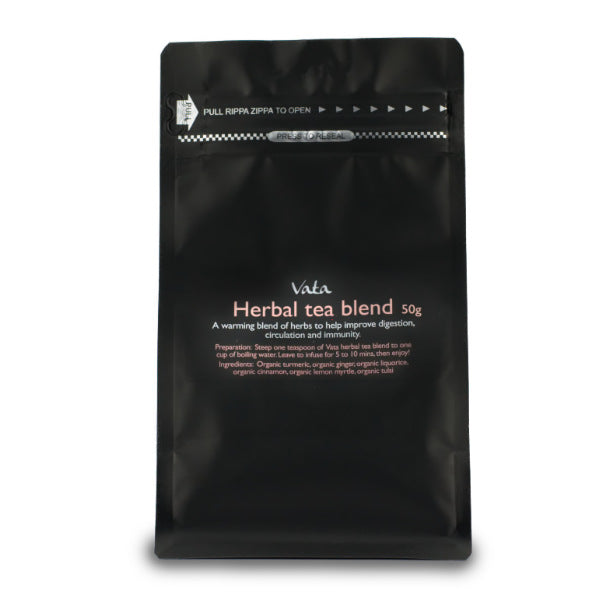 Ayurvedic Herbal Organic Tea Blends I Vata Pitta Kapha I 50g
