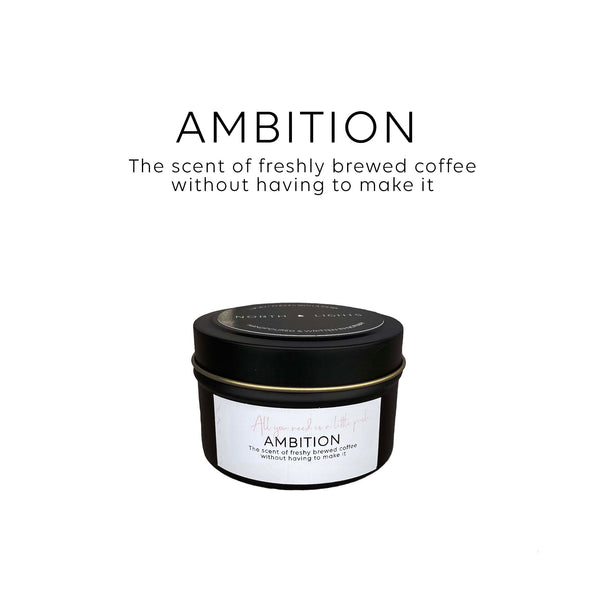 The scent of freshly brewed coffee without having to make it. Now, go reach your potential!