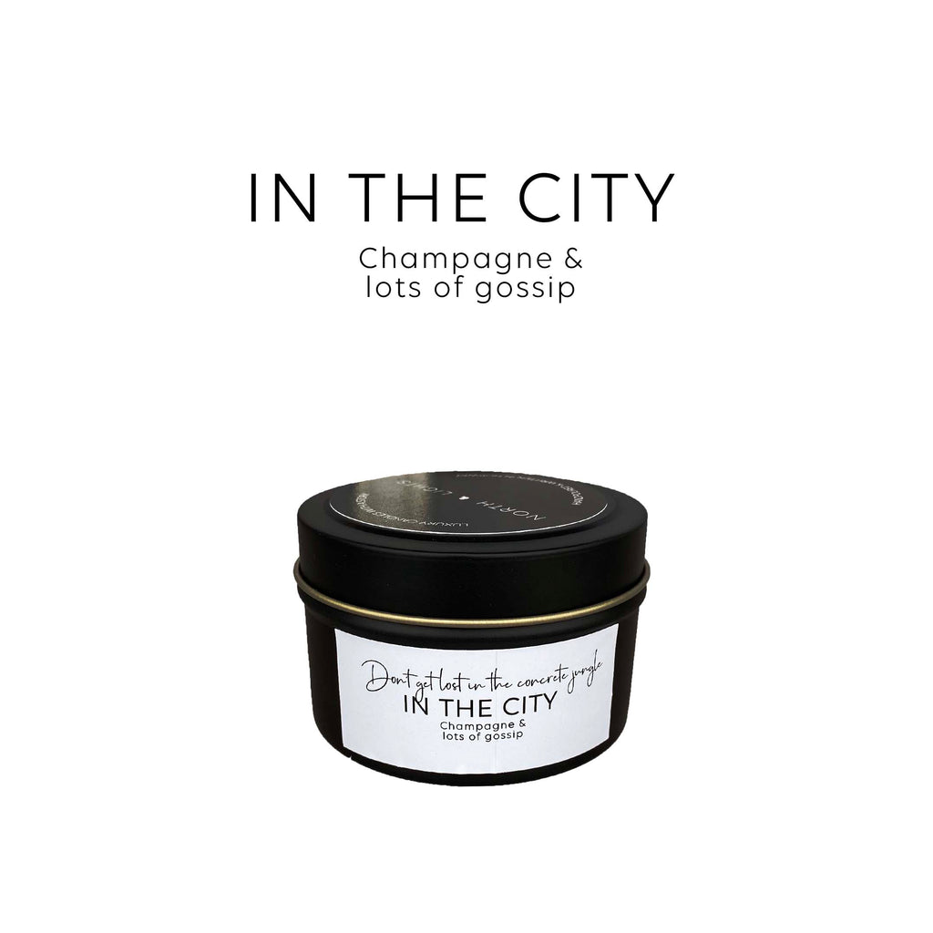 In the city. The scent of champagne & lots of gossip. Citrus & melon(ish)