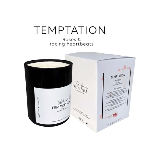 Temptation. Florals & racing heartbeats. Feminine, complex and absolutely fabulous!