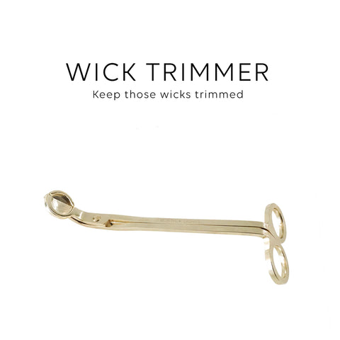 Wick trimmer - Gold