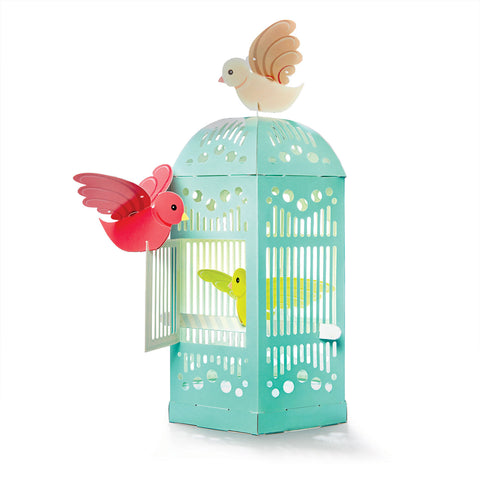 Build a Beautiful Birdcage (DIY 3D Cardboard Pretend Play)