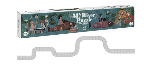 My River - 3 meter Long Puzzle