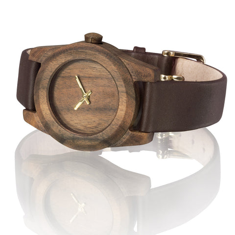 AA Wooden Watches Lady Palisander