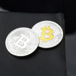 2nd Generation Commemorative Bitcoin Collectible Souvenir