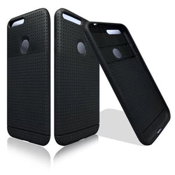 Black soft silicon case for Google Pixel and Pixel XL