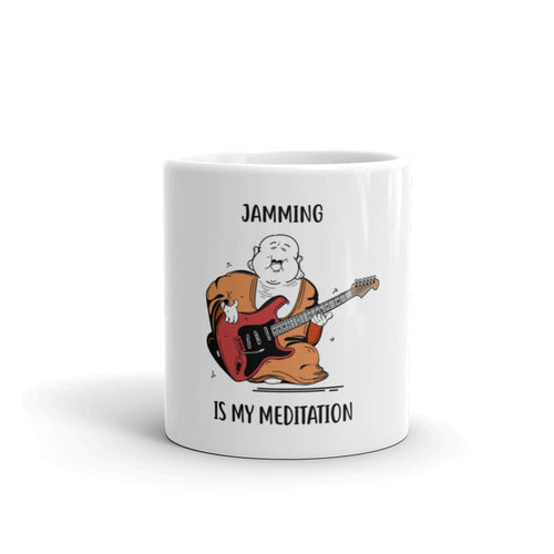 Jamming Is My Meditation Mug