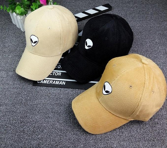 Alien Corduroy Baseball Cap (3 colors) - PMG Goods
