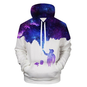 Paint the Galaxy Hoodie Unisex - PMG Goods