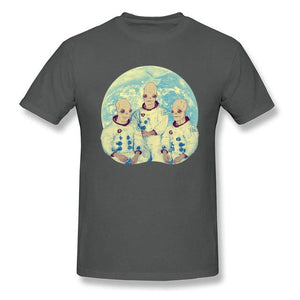 Alien Astronauts Print T-shirt Men (5 other colors) - PMG Goods