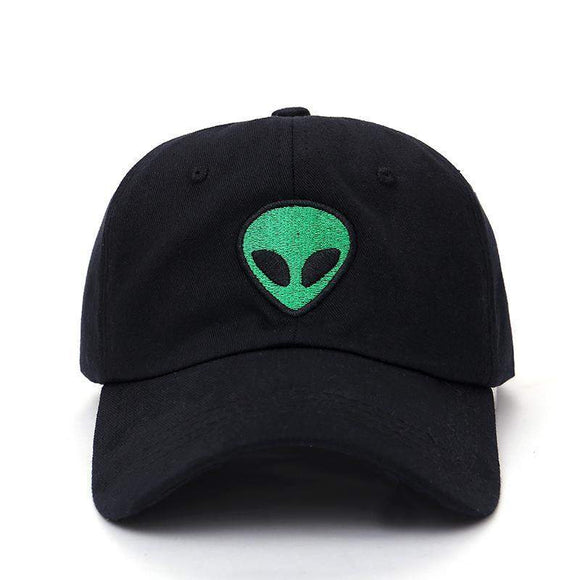 Alien Embroidered Baseball Cap Adjustable - PMG Goods