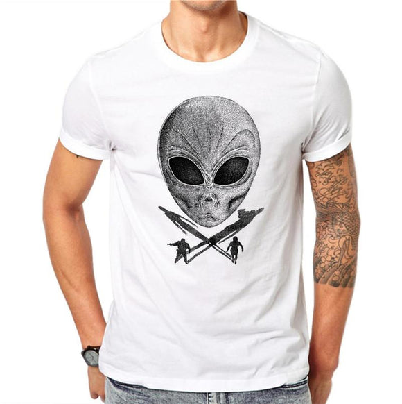 Alien Skull T Shirt Men - PMG Goods