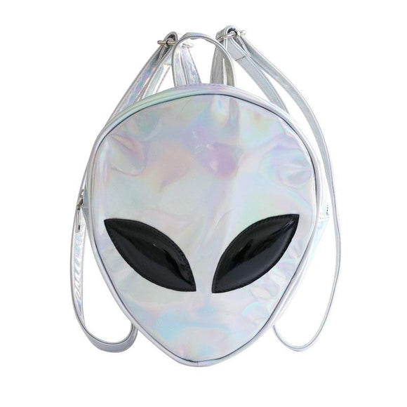 Alien Face Backpack - PMG Goods