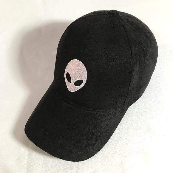 Aliens Embroidered Suede Baseball Cap Adjustable (Other colors) - PMG Goods