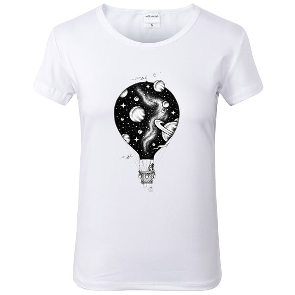 Space Balloon T-Shirt Women - PMG Goods