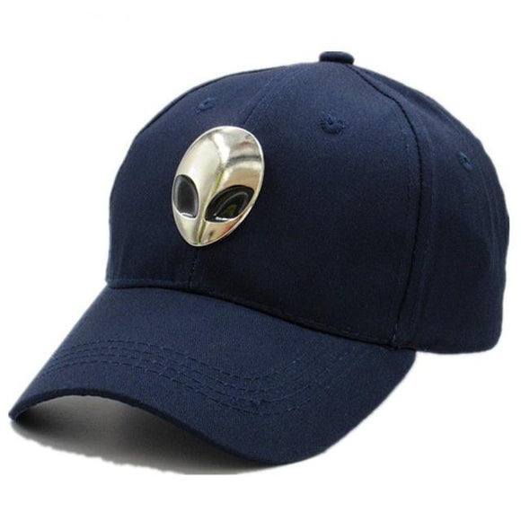 Alien Logo Cotton Baseball Cap for kids and adults (5 colors) - PMG Goods