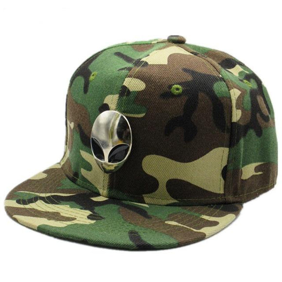Alien Logo Snapback Camo for kids and adults (2 colors) - PMG Goods