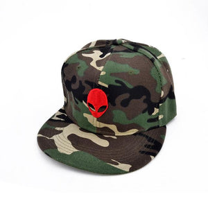 Camouflage Embroidered Alien Cap - PMG Goods