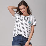 Cute UFO Dots Print T shirt - PMG Goods