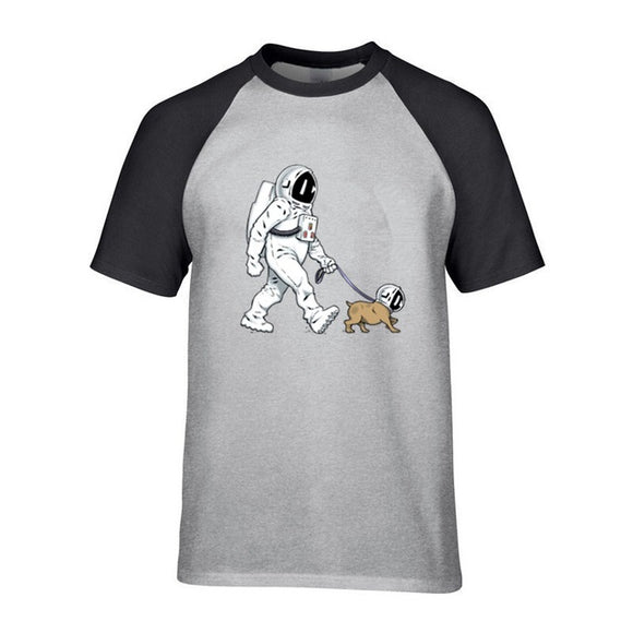 Walking the Space Dog T shirt Unisex (5 colors) - PMG Goods