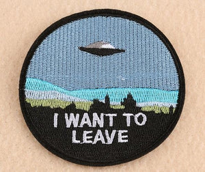 I Want Out Iron on Patch - PMG Goods