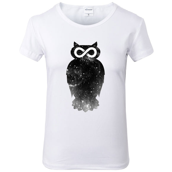 Infinite Owl T shirt Women - PMG Goods
