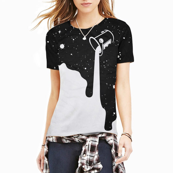 Space Paint T Shirt Women - PMG Goods
