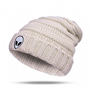 Alien Knitted Beanie (4 colors) - PMG Goods