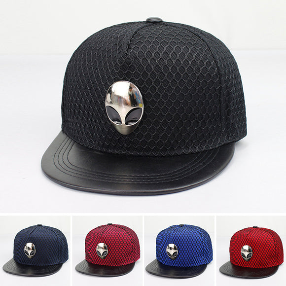 Alien Logo HipHop Snapback Hat (4 colors) - PMG Goods