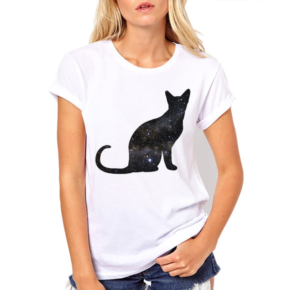 Galaxy of Cats Women T shirt - PMG Goods