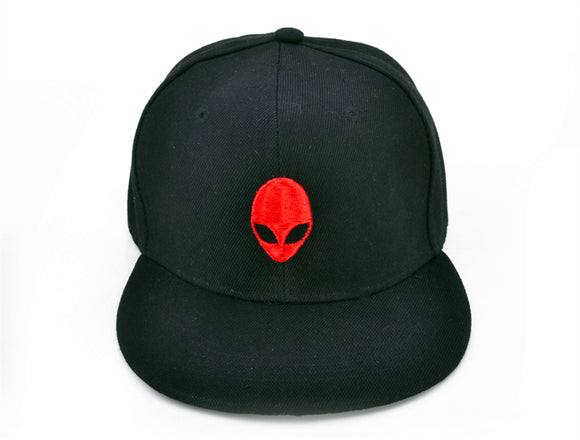Extraterrestrial Black/Red Baseball Cap - PMG Goods