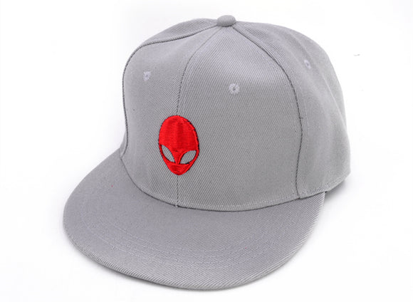 Extraterrestrial Gray/Red Baseball Cap - PMG Goods