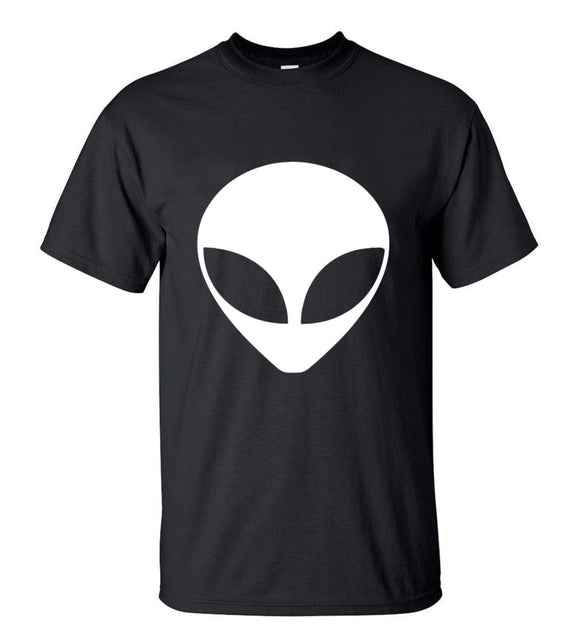 Large Alien Head T Shirt Men (Many colors) - PMG Goods
