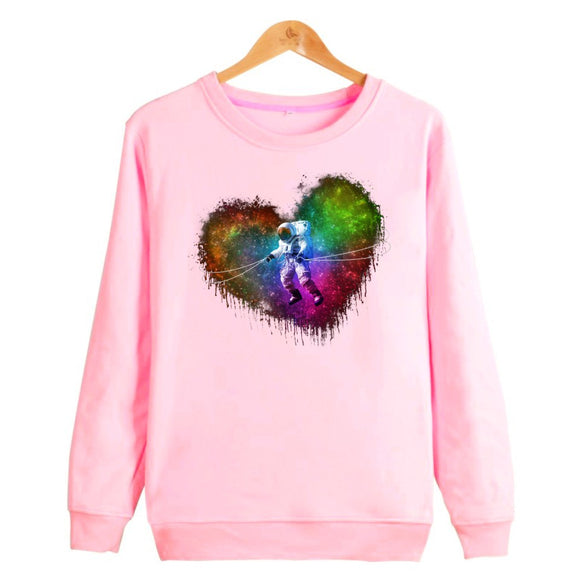 Space Colored Love Women (White or pink) - PMG Goods