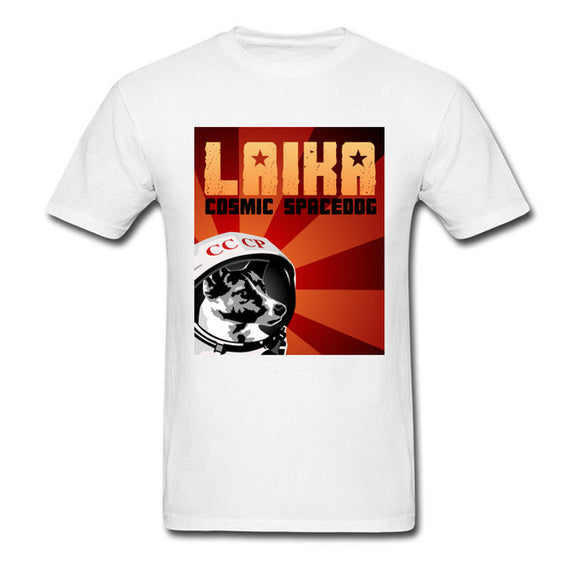 Laika Boss 1st Dog In Space Tshirt Unisex (Many colors) - PMG Goods