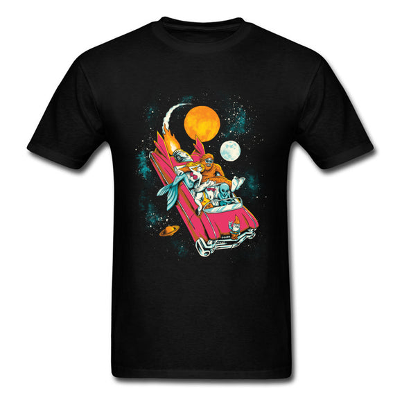 Cosmic Carpooling T Shirt Men (3 colors) - PMG Goods
