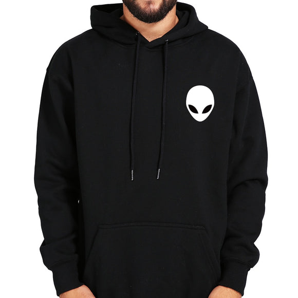 ET Pocket Hoodie Unisex Black  (Grey currently out of stock) - PMG Goods