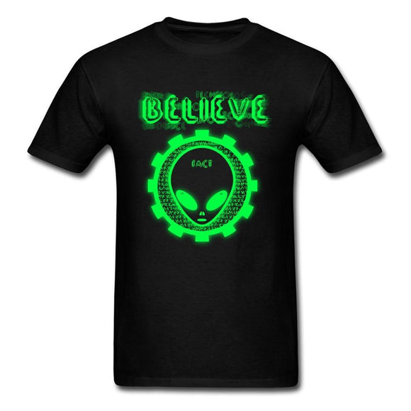 Alien Belief T Shirt Men (Many colors) - PMG Goods