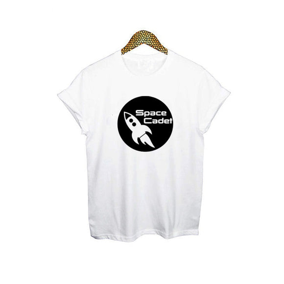 Space Cadet T shirt Women (Black or White) - PMG Goods