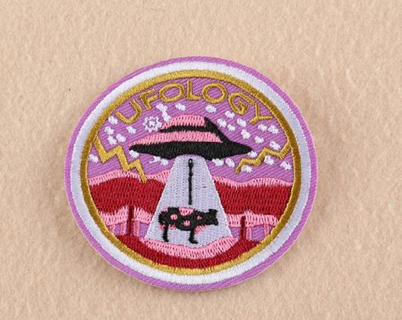 UFOlogy Iron on Patch - PMG Goods