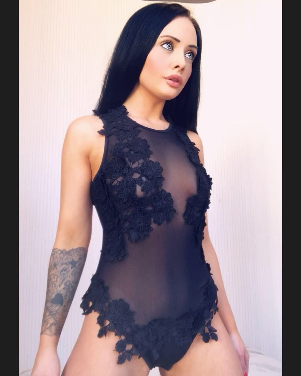 India Lace Swimsuit