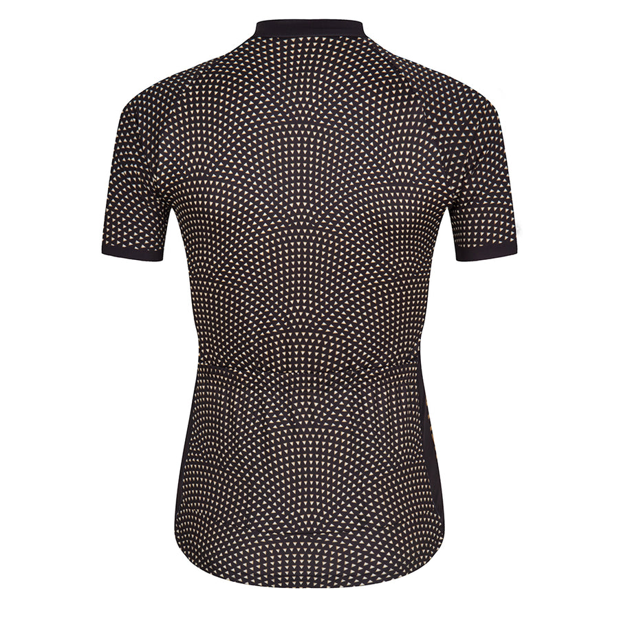 Black Gold Women's Cycling Summer Jersey