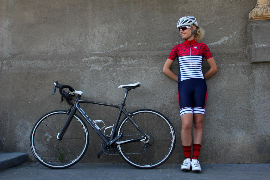 Bib Short Striped Leopard \\ Pre order