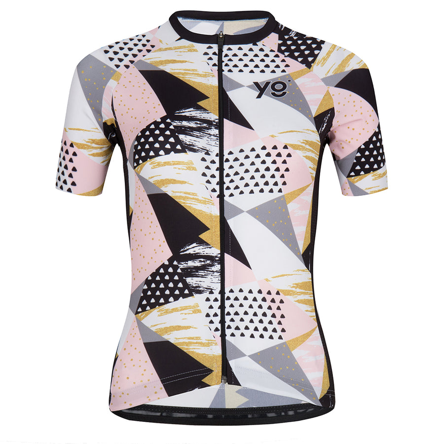 Rosey Gold Women's Summer Cycling Jersey