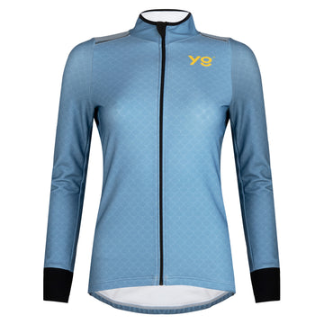 WOMEN'S CLASSIC LONG SLEEVED JERSEY - FADED DENIM