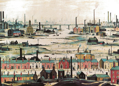 Image result for lowry industrial landscape